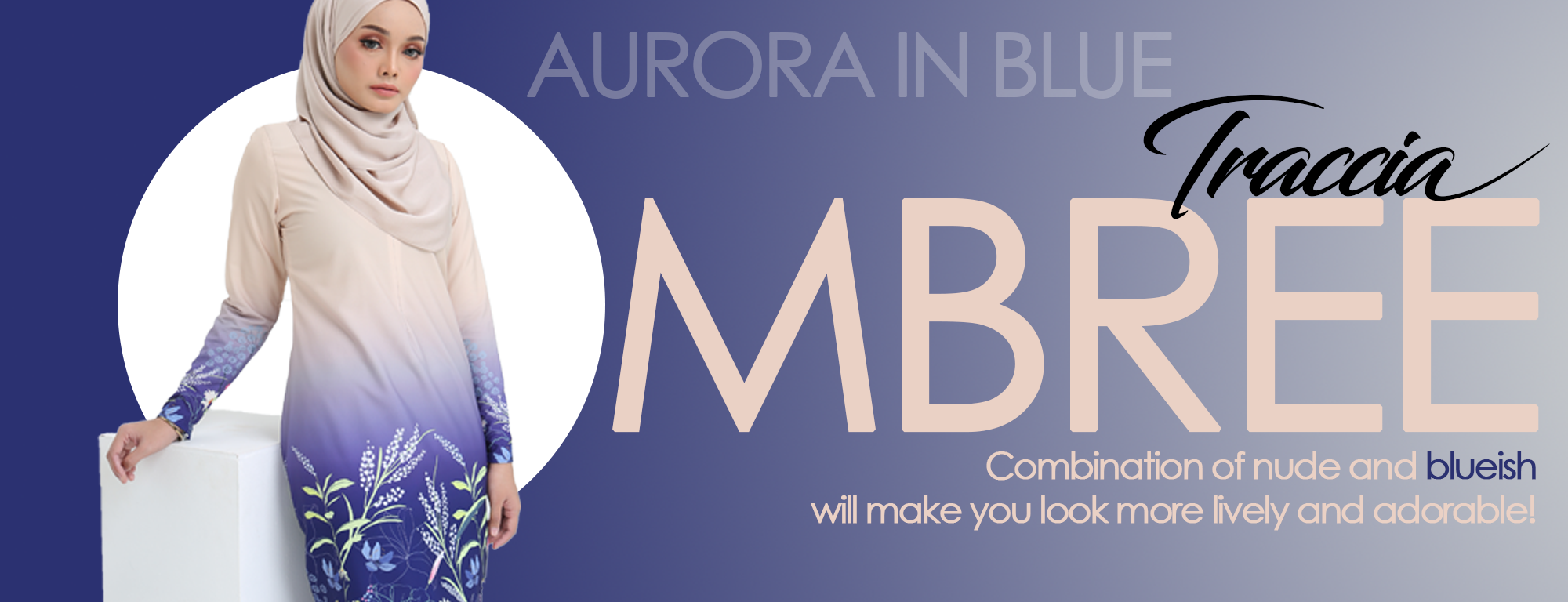 Banner Blue Nude